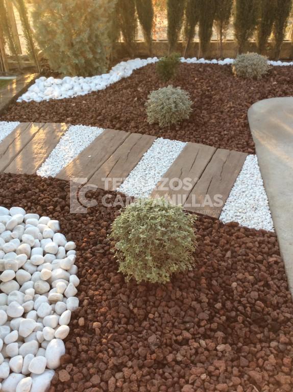 Bordillos para jardines bordillo decorativo para delimitar zona de plantas del jardin bordillo - Bordillos para jardines ...